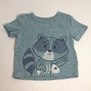 Jumping Beans 12M Raccoon T-Shirt